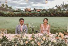 Lola & Ardi Wedding by Lopodo Cafe & Catering Canggu