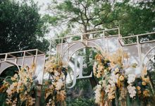 ENGAGEMENT LYDIA & JOSHUA by Raffles Hills Cibubur - On Green Garden Venue