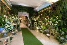 RIEZKA & KENNEDY by Raffles Hills Cibubur - On Green Garden Venue