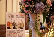 3 Frames - The Wedding of Gita & Aulia by Illustation