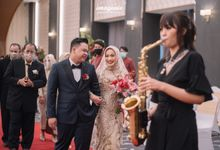 New Normal Wedding of Hari & Lia by  Menara Mandiri by IKK Wedding (ex. Plaza Bapindo)