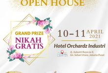 WEDDING OPEN HOUSE 10 - 11 April 2021 by Orchardz Hotel Industri