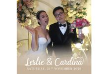 Wedding of Leslie & Cardina by The HoloGrail