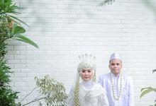 Wedding Hani & Andri by KAYUMANIS WO