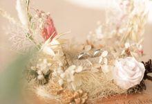 Kurniawan & Widuri Wedding - 9th January 2021 by Crown Royale Florist