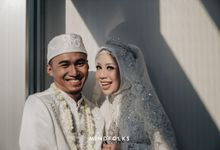 The Wedding of Nia & Vicry by  Menara Mandiri by IKK Wedding (ex. Plaza Bapindo)
