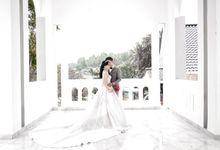 William & Laurencia by Michelle Bridal