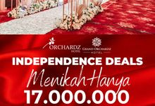 INDEPENDENCE DAY WEDDING PROMO by Orchardz Hotel Industri
