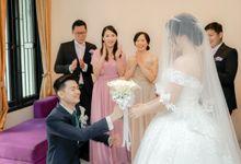 New Normal Wedding of Gio & Yoshi by Skenoo Hall Emporium Pluit by IKK Wedding
