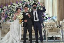 Host-ing Wedding reception of Dicky & Lauren by Ws Entertainment
