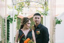 The Wedding of Baro & Icha by Crown Royale Florist