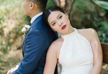 Carina & Anthony Intimate Wedding by Monokkrom