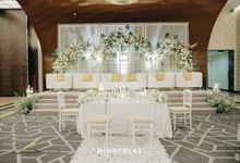 10th Floor Betawi Modern New Normal Wedding by Menara Mandiri by IKK Wedding (ex. Plaza Bapindo)