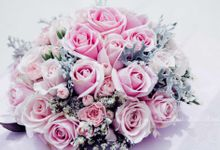 Customize Bride's Wedding Bouquet by BLUBELLS Flower
