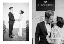 Andrea & Toby decided to do an intimate wedding with less than 50 guests. No bridesmaids/groomsmen, invitation or other details. They only had a brida by Foreveryday Photography