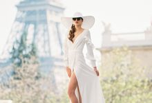Luxury Fashion Wedding Paris Editorial by Claire Morris Photography