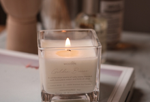 Scented Soy Candle (60ml) by Wick Atelier
