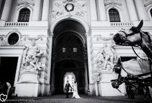 Pre-wedding photo session in Vienna by Grazmel Wedding Photography