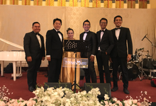 The wedding of Ayu & Herlangga by Wijaya Music Entertainment