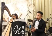 The wedding of Fina & Danial by Wijaya Music Entertainment
