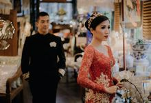 The Wedding of Bosco & Ezra by William Saputra Photography