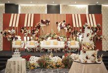 New Normal Wedding of Martin & Agnes at 10F Assembly Hall Menara Mandiri by Menara Mandiri by IKK Wedding (ex. Plaza Bapindo)