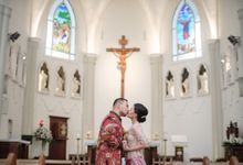 Richie & Agnes Holy matrimony by Willie William Photography