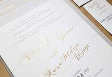 Willy & Raina by Vinas Invitation