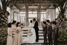 Wilma & Daniel Wedding at Vila Plenilunio by AKSA Creative