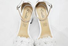 Wina Wedding Shoes by Evaldo Bridal Shoes