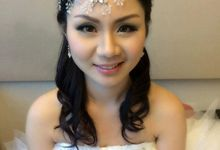 Centhia - Evening bridal make up by DW Makestyle