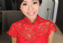 Pre-wedding bridal make up for Xiao Dai by DW Makestyle