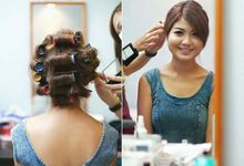 Thi Thi - Full day wedding make up by DW Makestyle