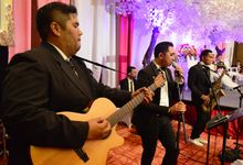 ShandyLucia Weddings at Menara TOP FOOD Alam Sutera by wine entertainment