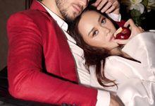 Aura Kasih & Eryck Amaral by Henri Winata Menswear