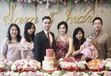 Samuel & Indri Engagement by WIRASA Catering