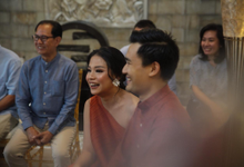 Steven & Cynthia Engagement by WIRASA Catering