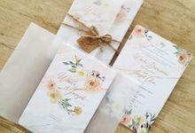 Winda & Joseph Wedding Invitation by Gracia The Invitation