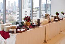 Iku & Boy Wedding by The NJONJA, Gourmet Catering