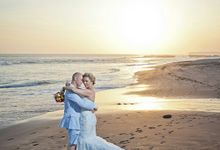 Kristyn & Daniel @Bali Beach by Kiss Mrs Wedding Planner