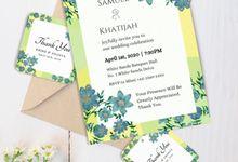 Wonderland Wedding Invitation by Gift Elements