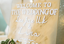 Lina & Lee Wedding Decoration by FIORE & Co. Decoration