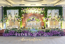Amanda & Clinton - Gran Mahakam by FIORE & Co. Decoration