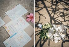Joshua and Jem Beach Wedding by Icebox Imaging