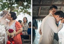 Joshua and Jem Beach Wedding by Icebox Imaging