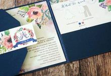 New collection by Invitation designs by kenneth uy