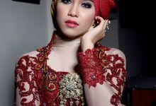 Wedding Make Up Modern Photo Session by Ditadyanti