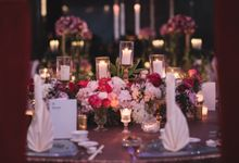 William & Racheal - Romantic Fuchsia & Blushing Pink Wedding by Blissmoment