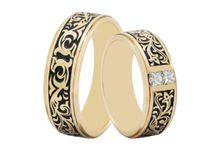 Wedding Ring Batik WRB0006 by V&Co Jewellery