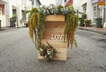 Rustic/Indie wedding by Flora woods